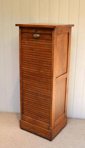 French Oak Filing Cabinet c.1920 (1 of 10)