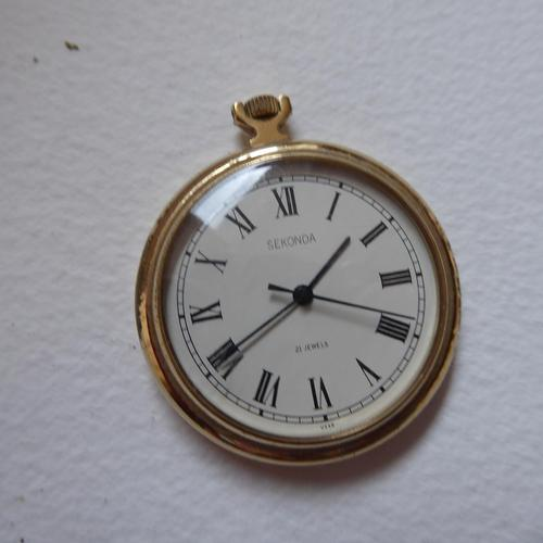 Sekonda Pocket Watch Working (1 of 7)