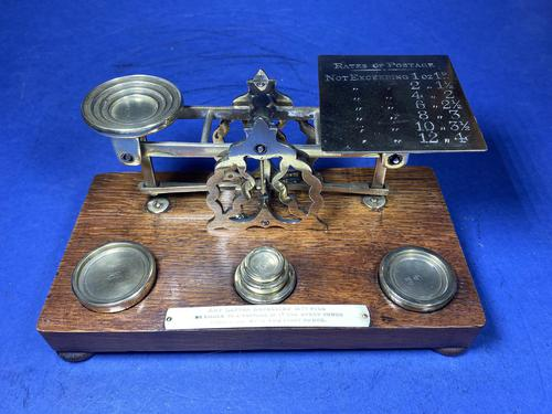 Victorian Mordan Letter Scales. (1 of 19)