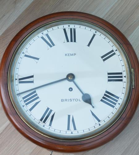 Kemp Bristol Fusee Dial Wall Clock (1 of 5)