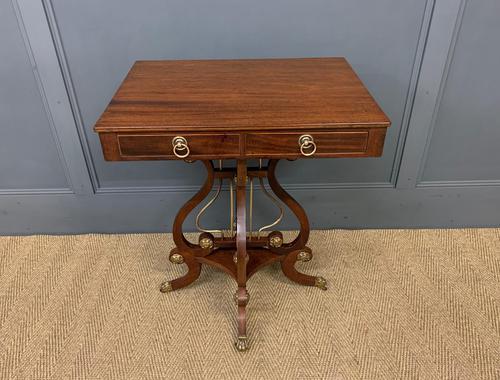 Mahogany Lamp Table (1 of 17)