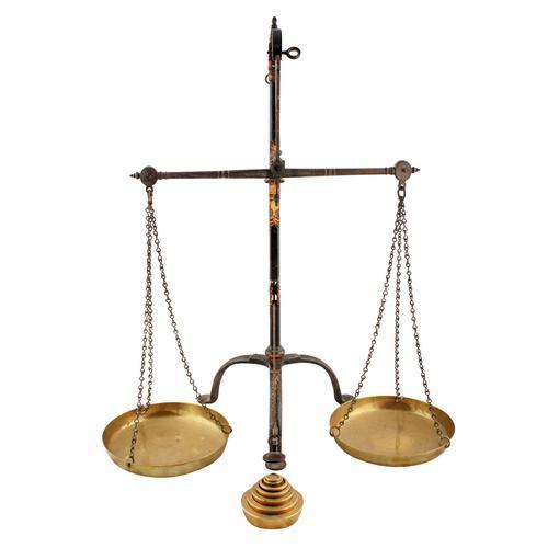 Arts & Crafts Beam Scales (1 of 8)