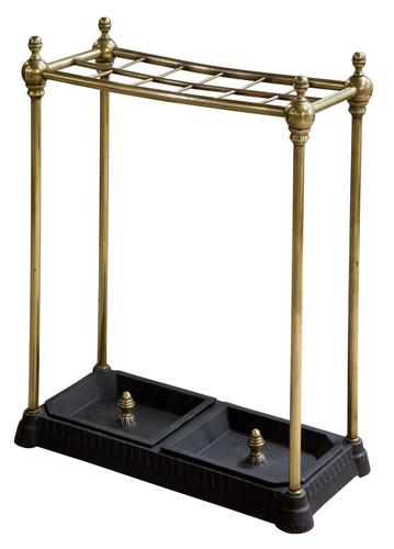 Victorian Brass Stand with Drip Pans (1 of 6)