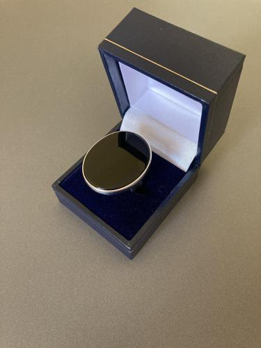 Danish Silver Ring with Onyx by Niels Erik From (1 of 5)