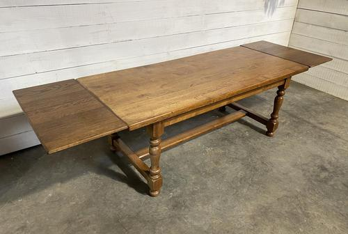 Oak Farmhouse Dining Table with Extensions (1 of 18)