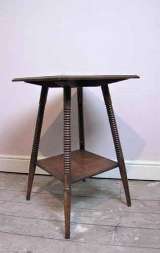Arts & Crafts William Birch Side Table (1 of 4)