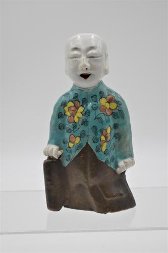 Chinese  Laughing Boy - Famille Verte on Biscuit - Jiaqing (1 of 9)