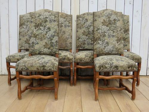 Set of Six French Os De Mouton Dining Chairs (1 of 9)