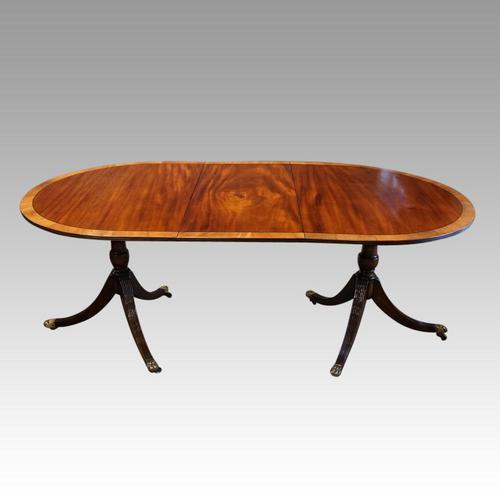 Regency Style Mahogany Dining Table (1 of 10)