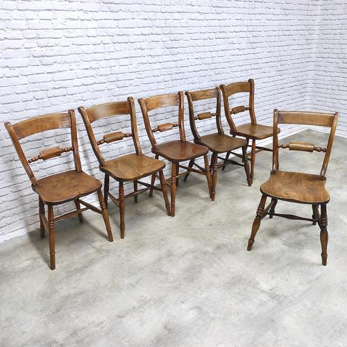 Set of 6 Barback Windsor Kitchen Chairs (1 of 7)