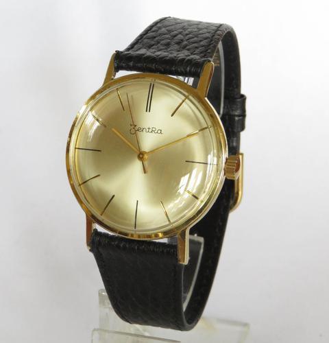 Gents 1960s Zentra Wrist Watch (1 of 4)