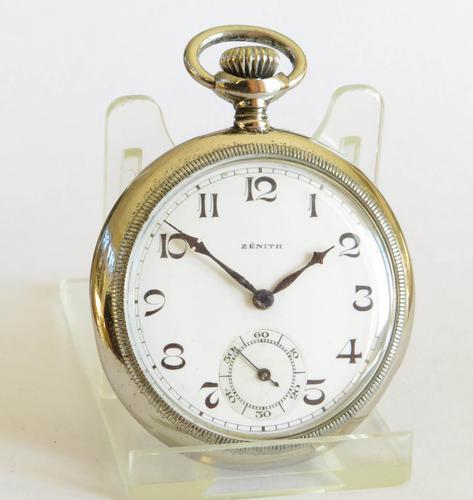 1930s Zenith Pocket Watch (1 of 5)