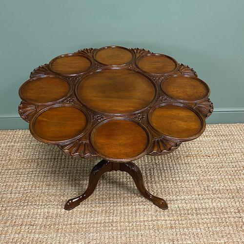 Quality Victorian Mahogany Antique Supper Table (1 of 9)