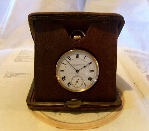 Vintage Pocket Watch Case 1940s Original Bedside Mantelpiece or Storage Case (1 of 12)