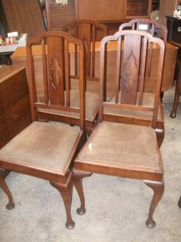 Set of 4 Mahogany Chairs (1 of 3)