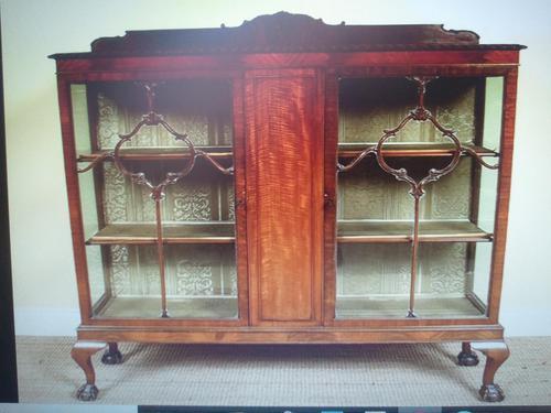 Astragal Display Cabinet. Victorian c.1880 (1 of 8)