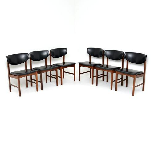 Set of 6 Danish Vintage Rosewood Dining Chairs (1 of 12)