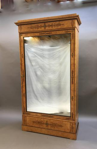 19th Century French Ash Armoire Wardrobe (1 of 9)