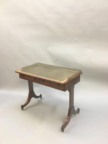 Regency Mahogany Writing Table (1 of 13)