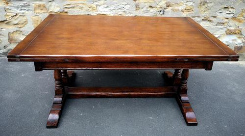 Oak Draw Leaf Extending Dining Table TITCHMARSH & GOODWIN (1 of 7)