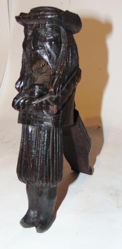 Victorian carved 'man' nutcracker (1 of 5)