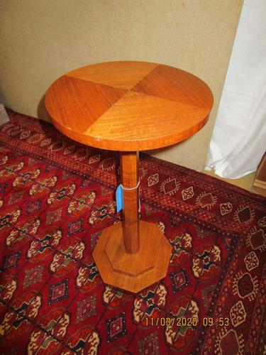 Walnut Art Deco Wine Table (1 of 6)