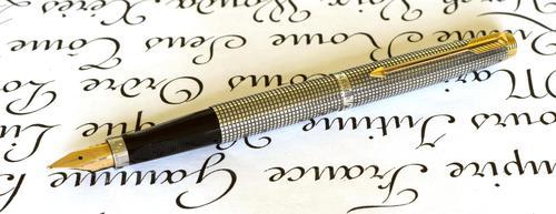 Parker 75 Cisele - Sterling Silver Vintage Fountain Pen (1 of 5)