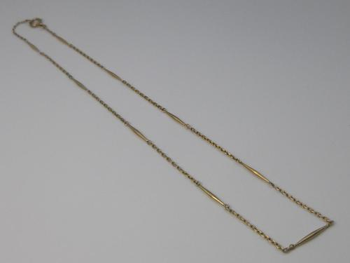 Edwardian 9ct Gold Childs Chain (1 of 5)