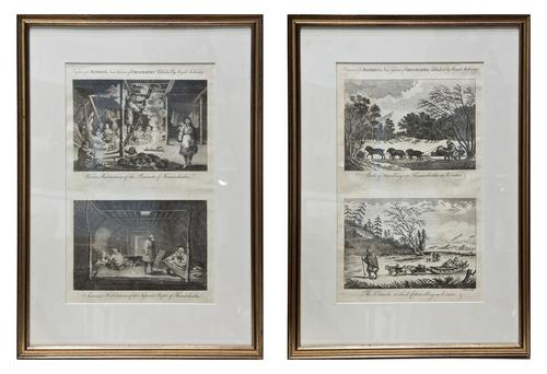 Pair of Early 19th Century Original Etchings (1 of 12)