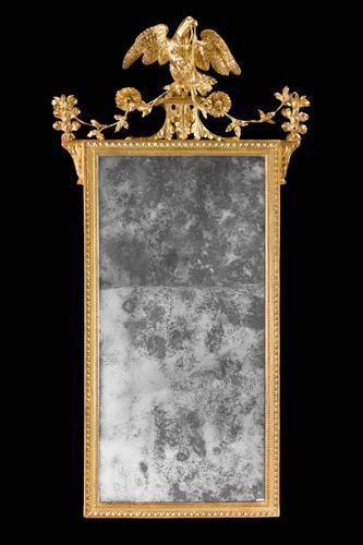 Late 18th Century Giltwood Carved Mirror (1 of 4)
