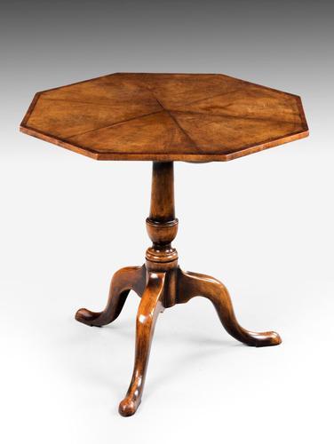 Late 19th Century Octagonal Tilt Table (1 of 5)