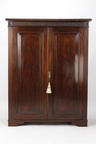 Edwardian Mahogany Georgian Revival Cupboard c.1910 (1 of 13)