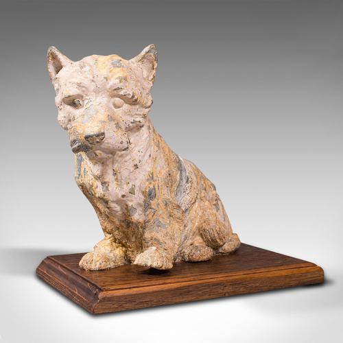 Antique Decorative West Highland Terrier, British, Westie Dog, Edwardian c.1910 (1 of 12)