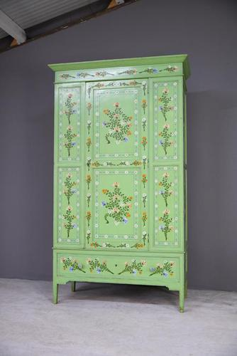 Vintage Painted Pine Wardrobe (1 of 12)