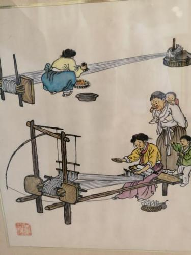 Lovely Quality 19th Century Chinese Watercolour (1 of 5)