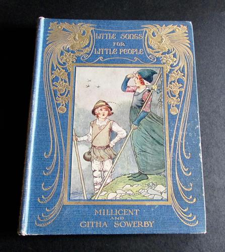 1917 Little Songs for Little People by Millicent & Githa Sowerby (1 of 5)