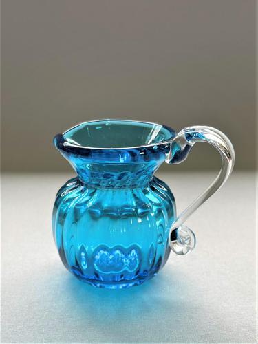 Delightful Victorian 'Solo' Glass Cream Jug (1 of 5)