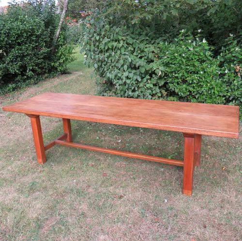 Antique French Elm & Ash Farmhouse Dining Table (1 of 9)