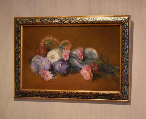 French still life oil painting of flowers (1 of 7)