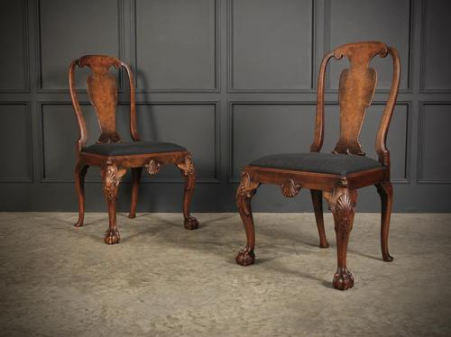 Pair of Queen Anne Style Chairs (1 of 13)
