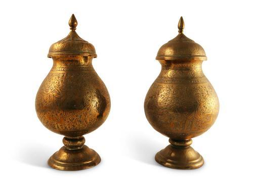 Pair of Kashmiri Jars (1 of 5)