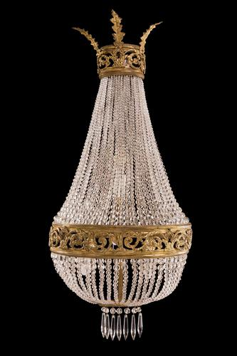 Late 19th Century Crystal Chandelier Wall Light (1 of 4)