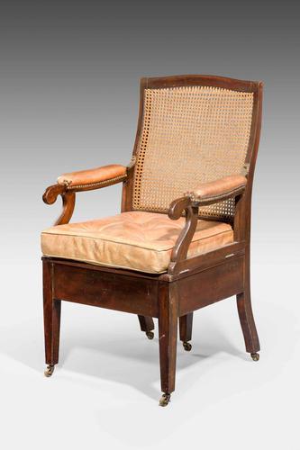Late 19th Century Metamorphic Commode Armchair (1 of 6)