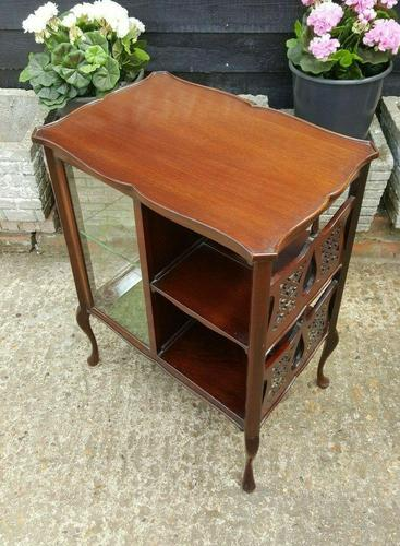 Lovely Victorian Mahogany Shop Display Cabinet (1 of 7)