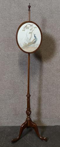Victorian Walnut Pole Screen (1 of 11)