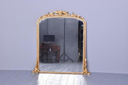 Quality Victorian Overmantel Mirror (1 of 5)
