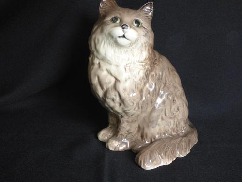 "Beswick Persian Cat Swiss Roll Model No 1867 Very Large Size 8.5"" (1 of 5)"