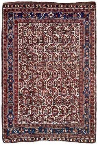 Antique Khamseh Rug 1.91m x 1.31m (1 of 13)