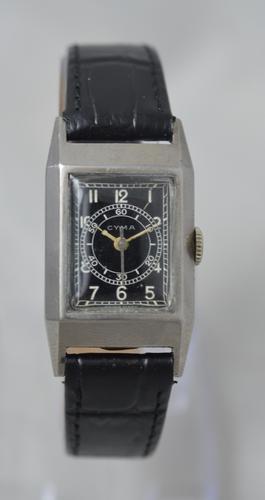 1940s Cyma 'Doctors' Style Watch (1 of 6)