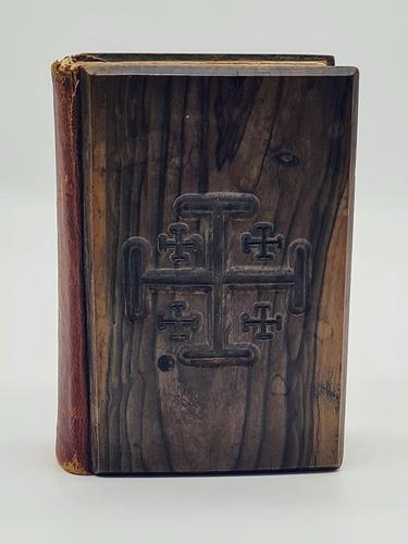 Olive Wood New Testament, Vintage Soldier's Bible 1950s, Jerusalem Bible (1 of 5)